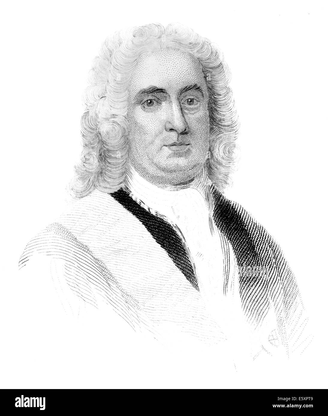 Robert Walpole, 1st Earl of Orford, 1676 - 1745, the first Prime Minister of Great Britain, Robert Walpole, 1. Earl - Stock Image