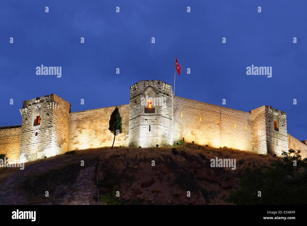 Citadel, Gaziantep, Southeastern Anatolia Region, Anatolia, Turkey - Stock Image