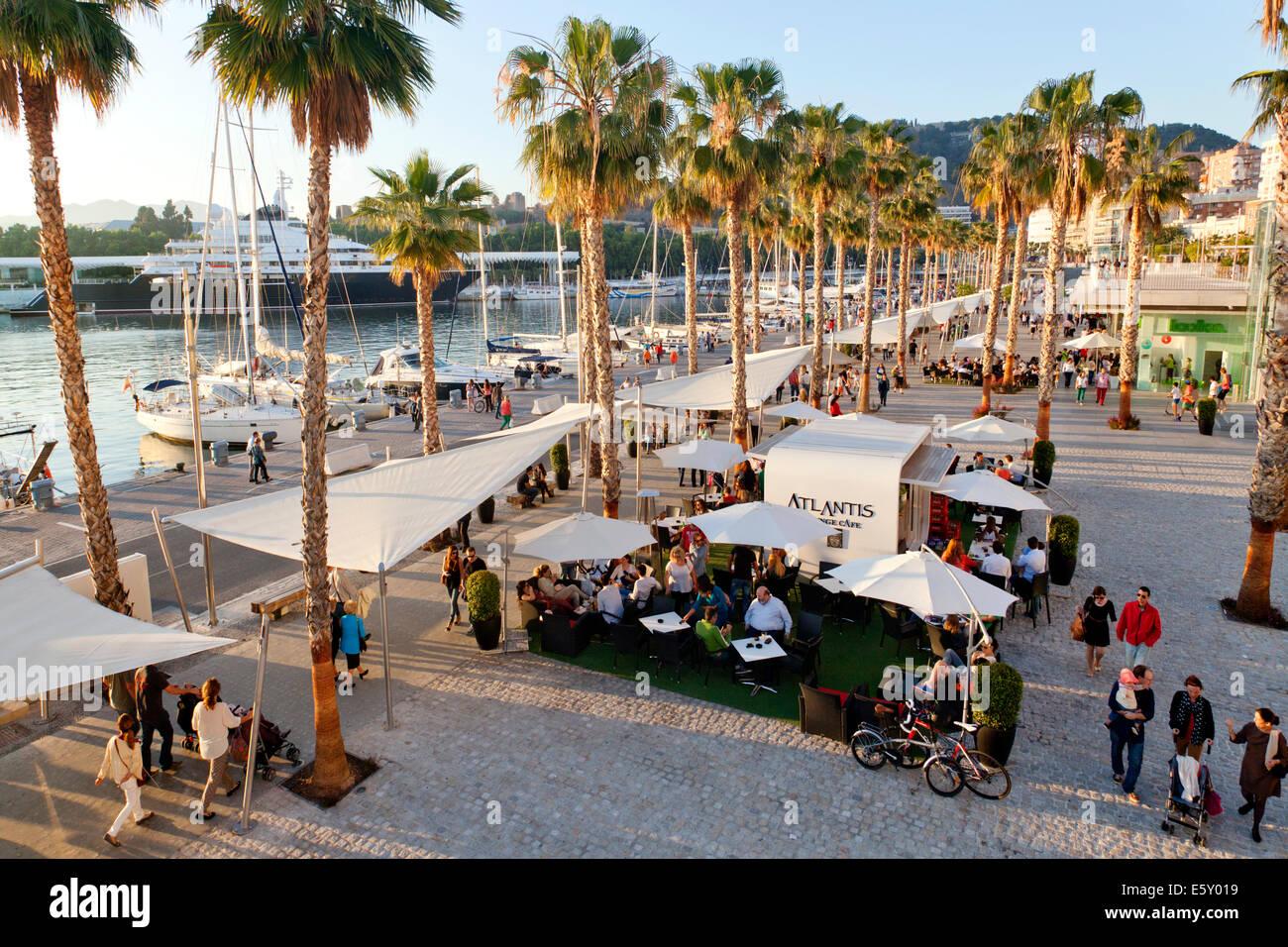 Spain cafe promenade stock photos spain cafe promenade - Stock uno alicante ...