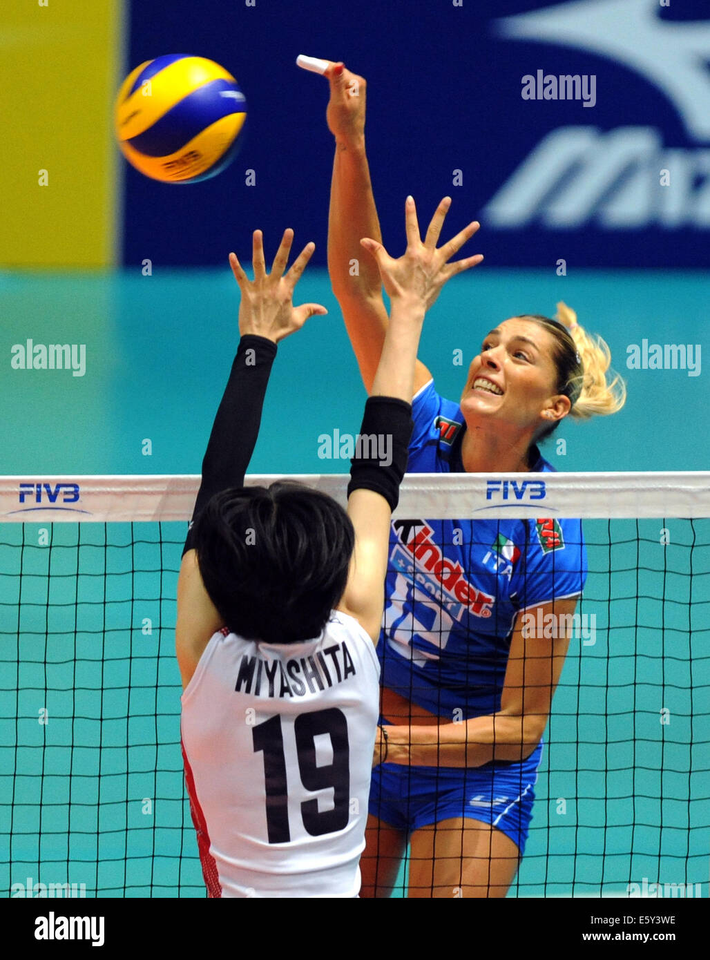 Volleyball player francesca piccinini can
