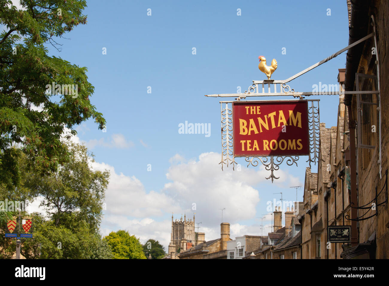 CHIPPING CAMPDEN TEA ROOMS - Stock Image