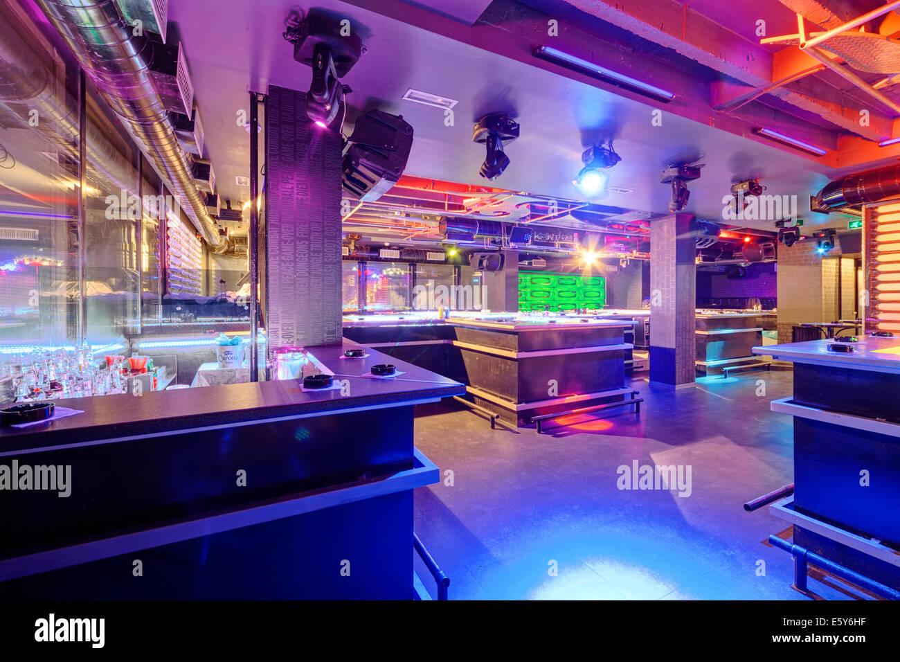 interior night club vivid colors stock photos interior night club rh alamy com