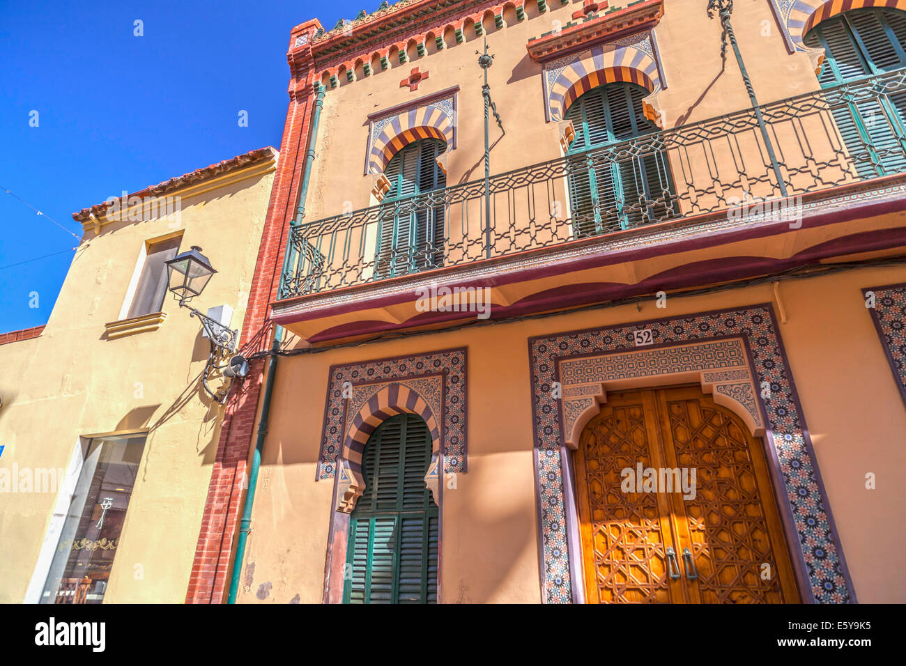 Vilassar de mar,Catalonia,Spain - Stock Image