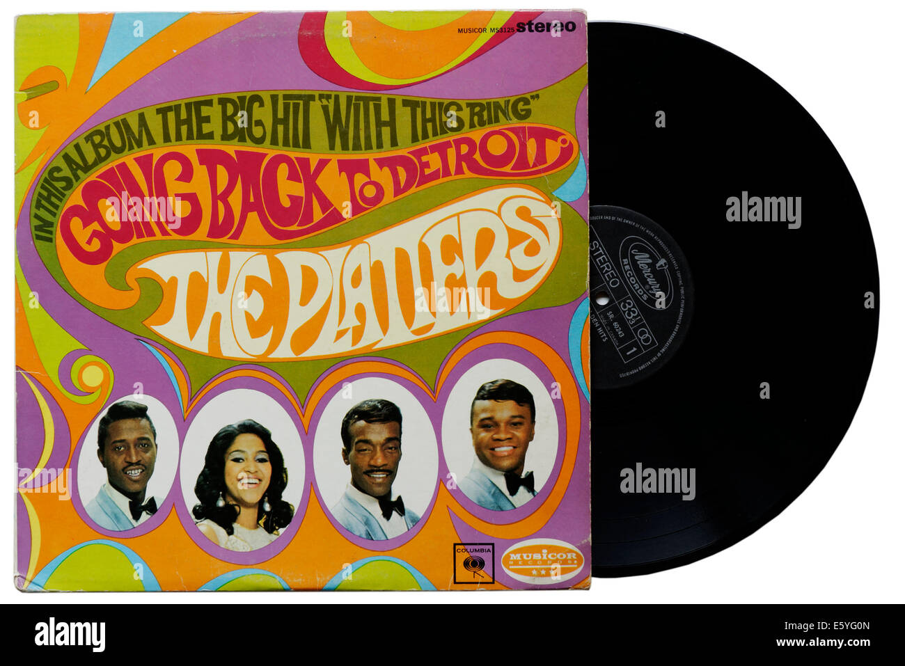 Going Back to Detroit by The Platters - Stock Image