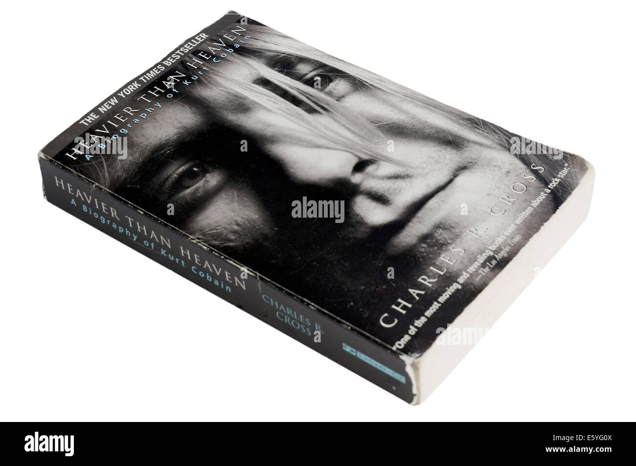 Heavier Than Heaven, a biography of Kurt Cobain by Charles Cross - Stock Image