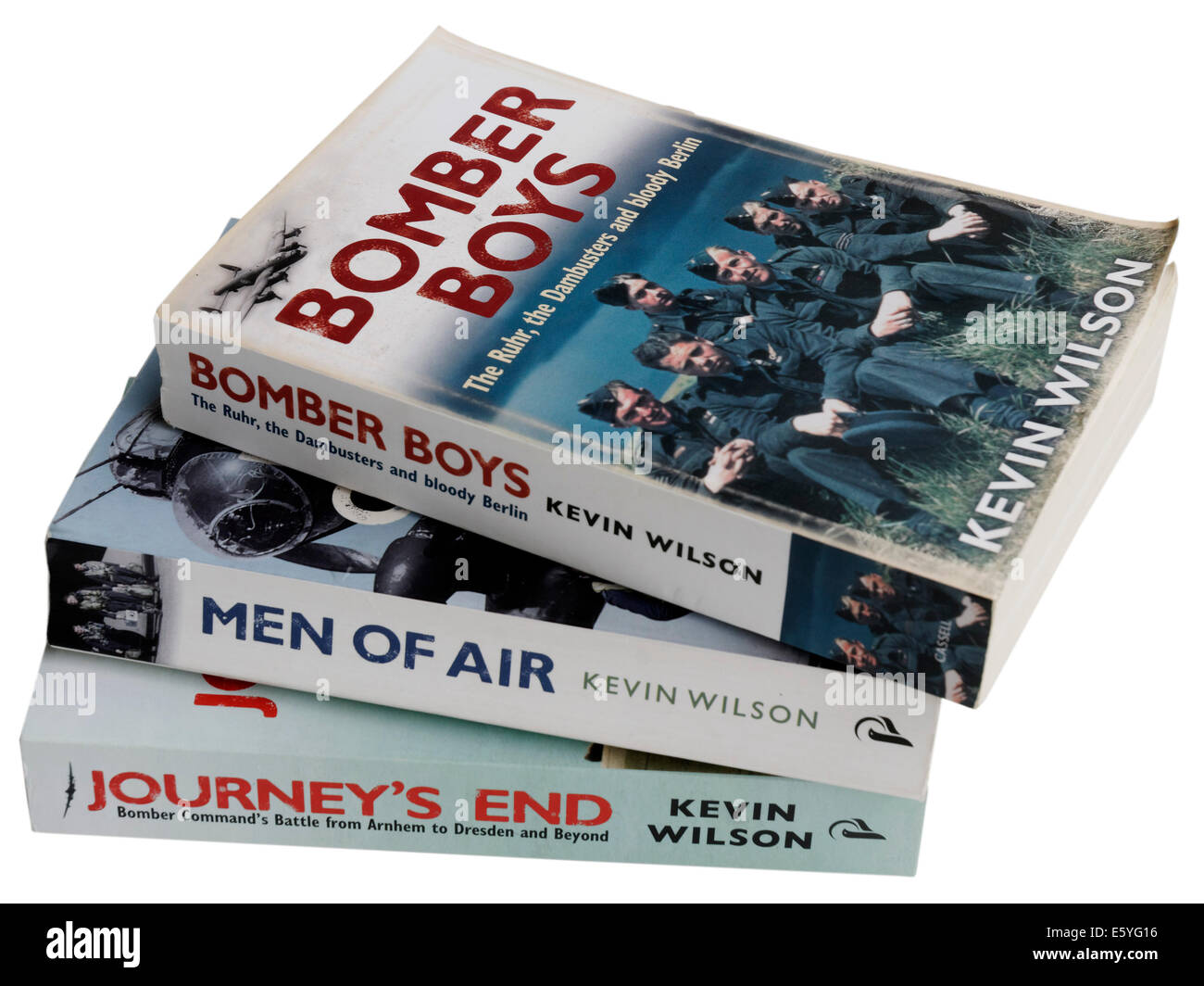 The Bomber Boys Trilogy by Kevin Wilson - Stock Image