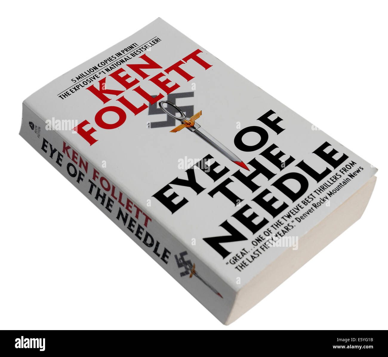 The Eye of the Needle by Ken Follett - Stock Image