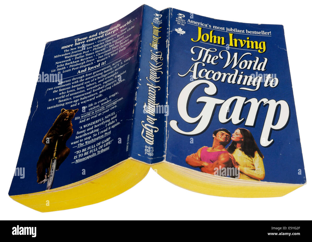 The World According to Garp by John Irving Stock Photo