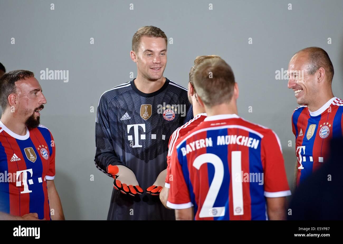 best service 48557 7a0d7 Franck Ribery (L-R), Manuel Neuer, Bastian Schweinsteiger ...