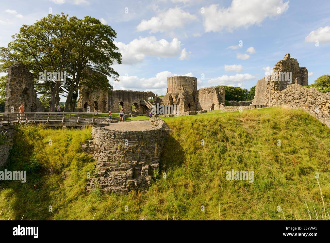 Barnard Castle - Stock Image