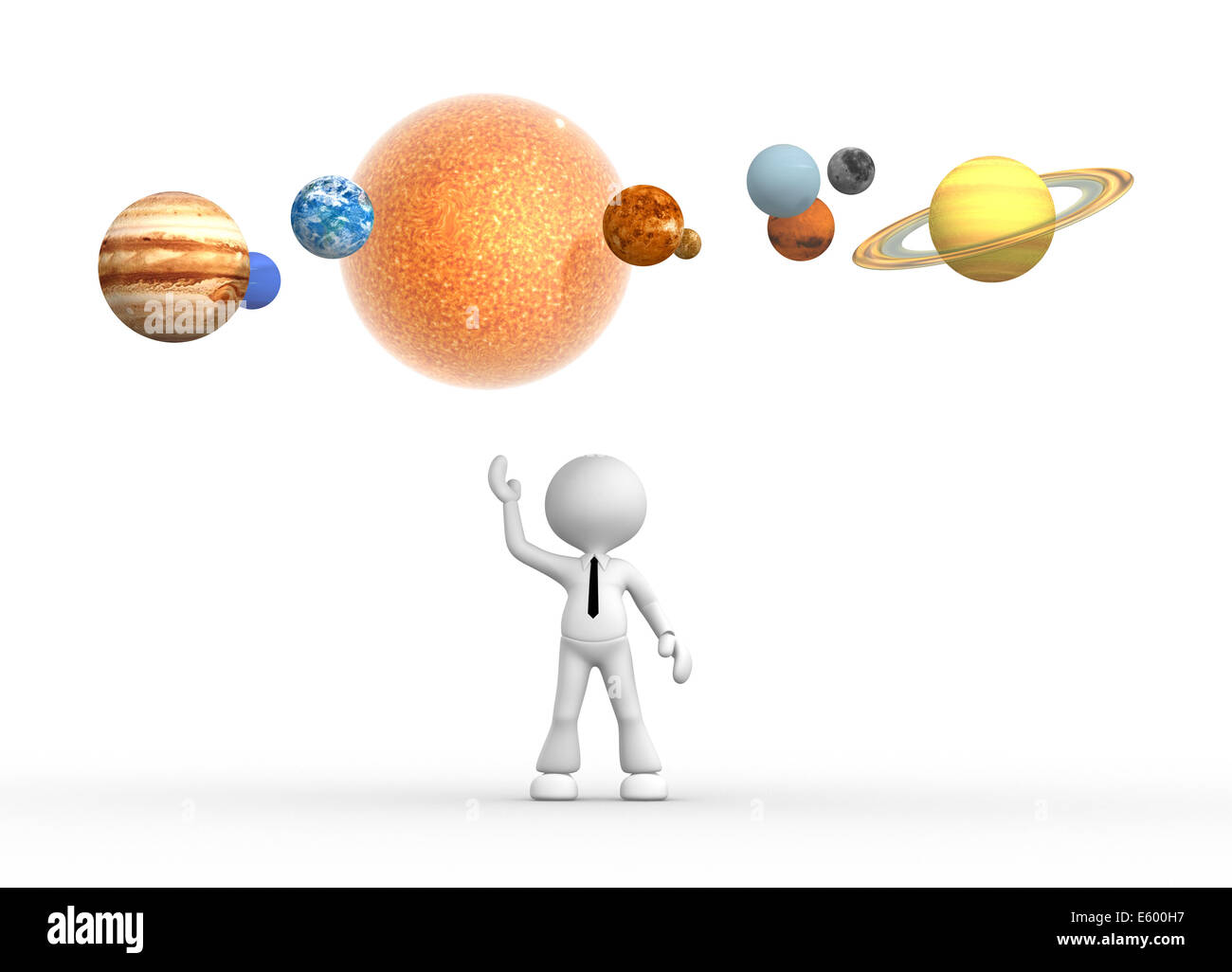 Solar System Cut Out Stock Images & Pictures - Alamy