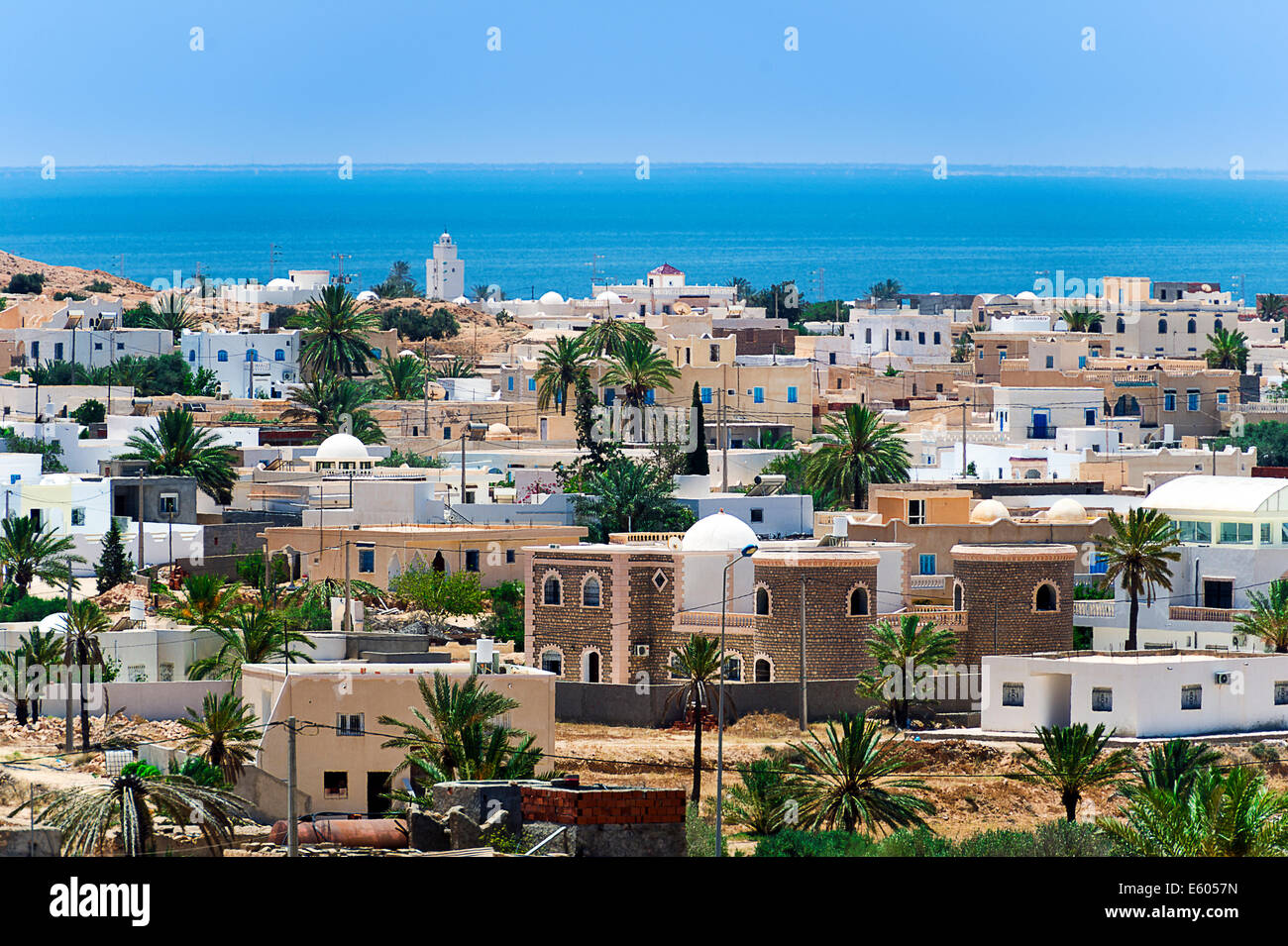 Africa, North Africa, Maghreb, South Tunisia, Djerba island. Guellala. - Stock Image