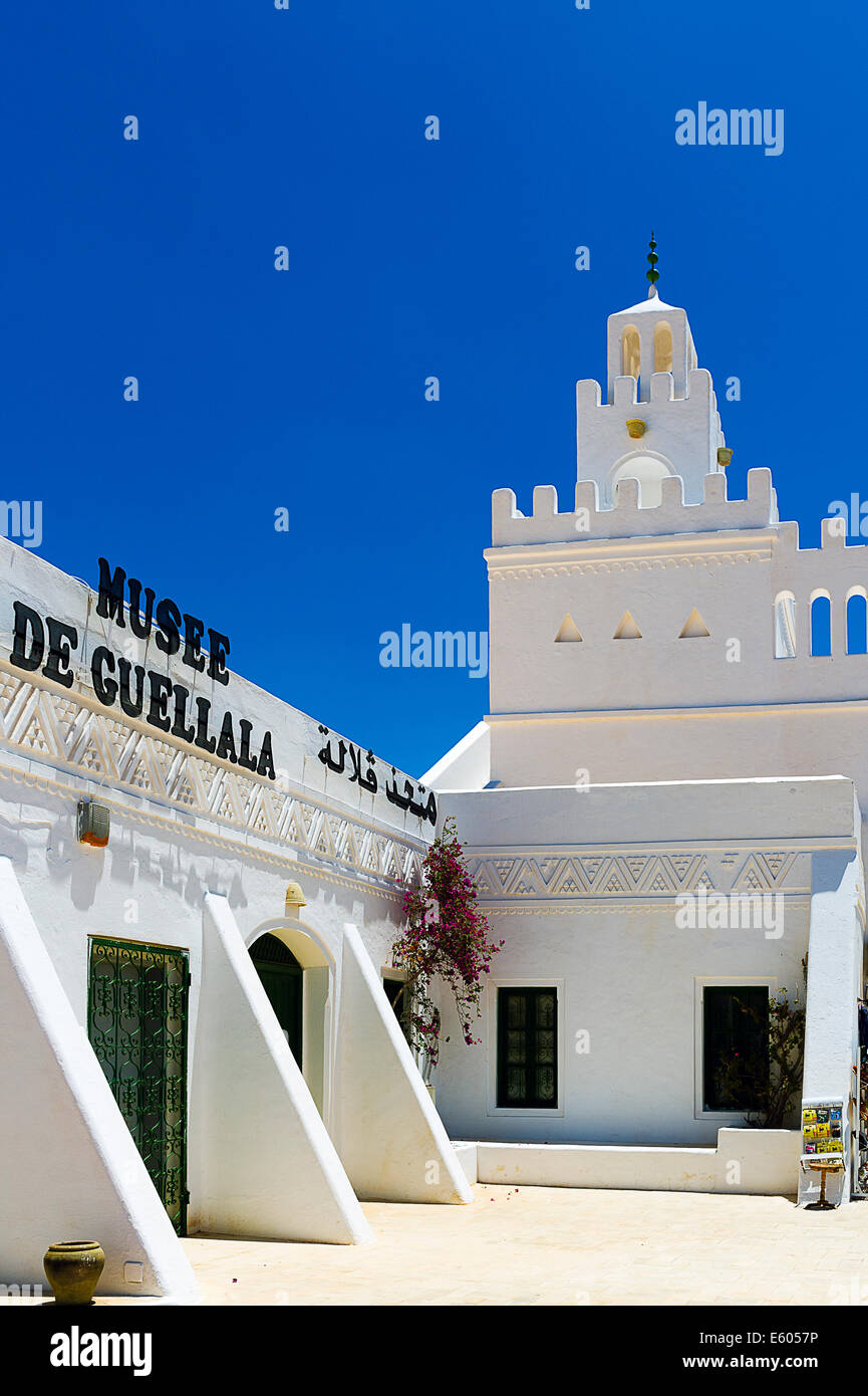 Africa, North Africa, Maghreb, South Tunisia, Djerba island. Guellala. Museum. - Stock Image
