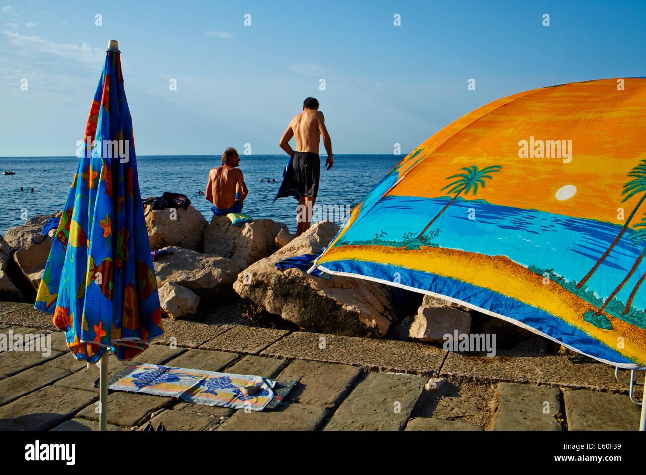 Slovenia, Primorska region, Adriatic Coast, Piran - Stock Image