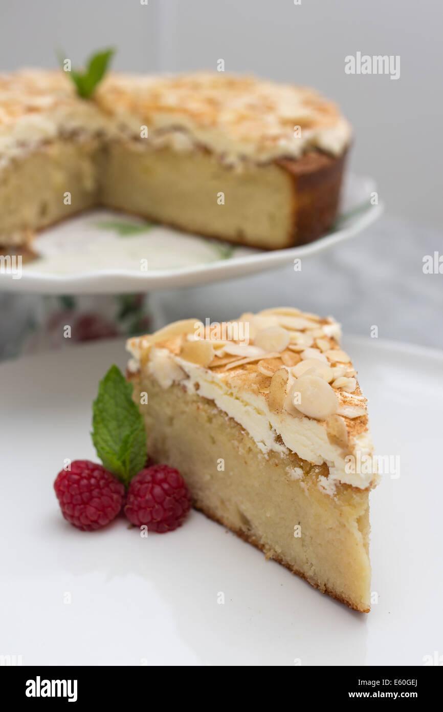 Almond Marzipan Gluten Free Cake