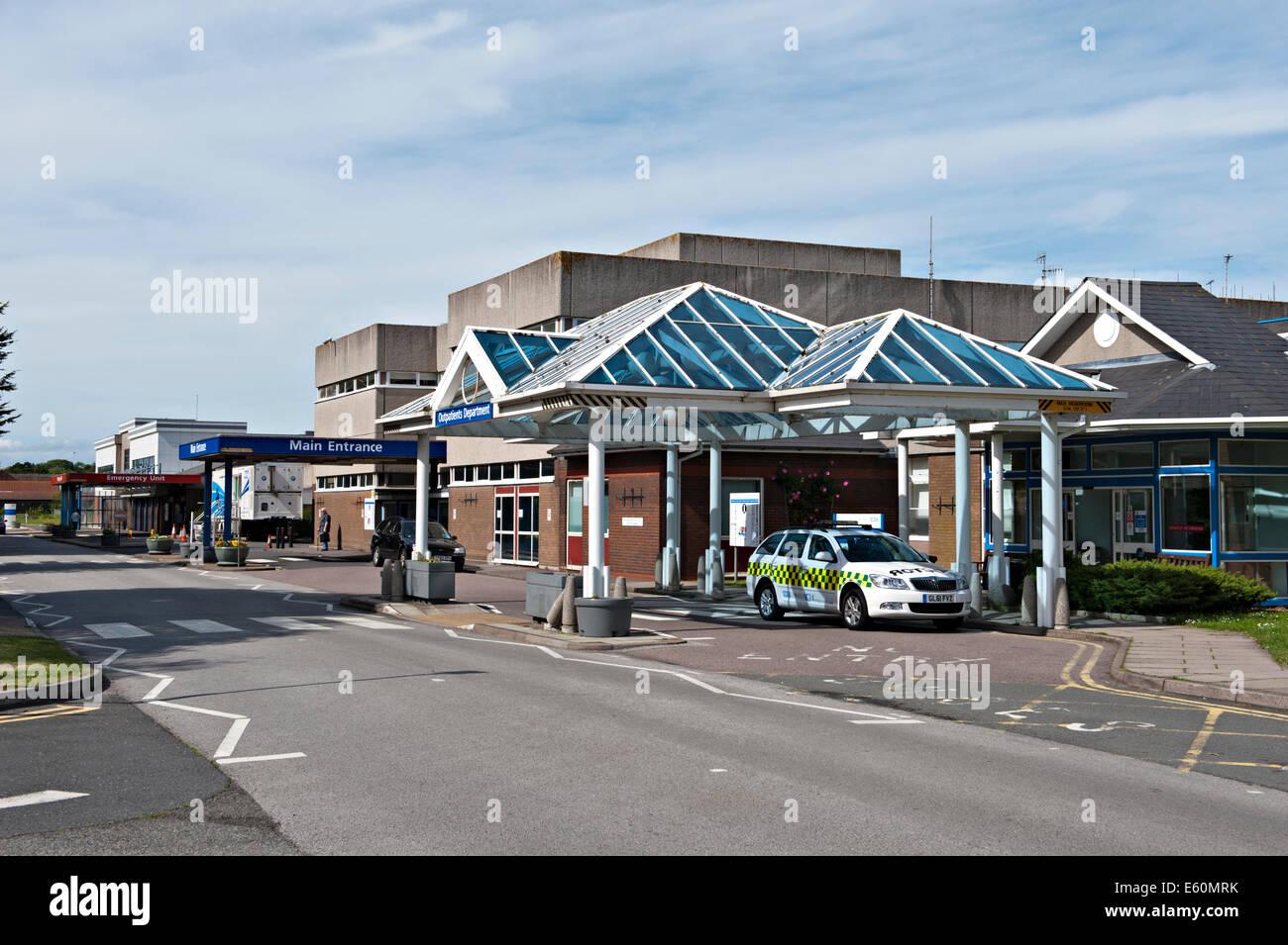 Outpatients Department at Eastbourne District General Hospital, UK - Stock Image