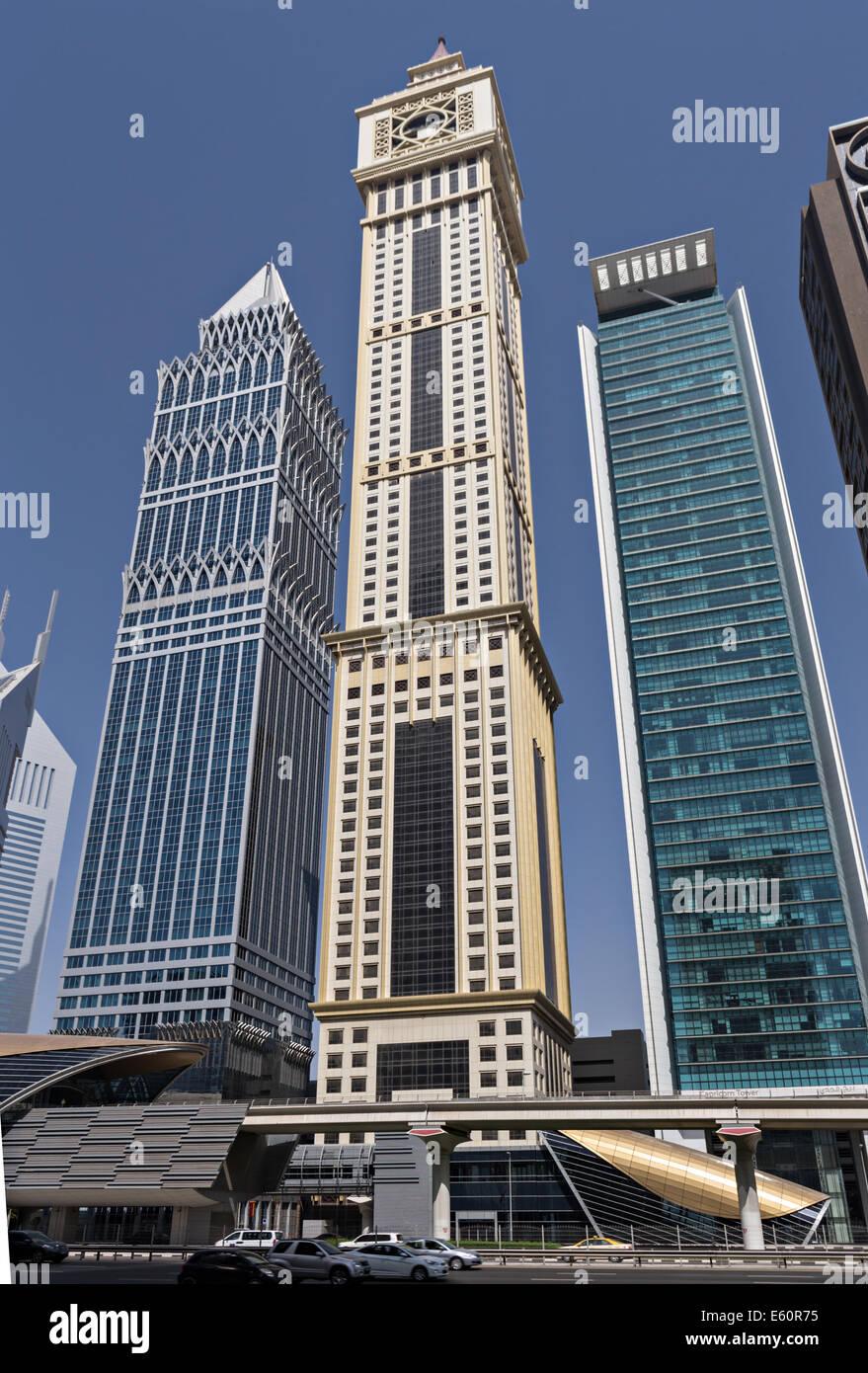 Al Yaqoub Tower - Stock Image