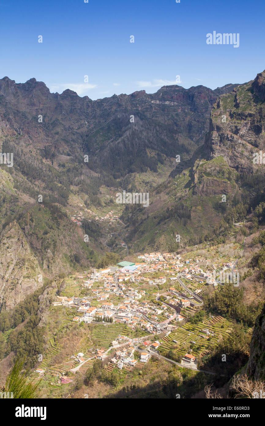 Eira do Serrado, Madeira, Portugal - Stock Image
