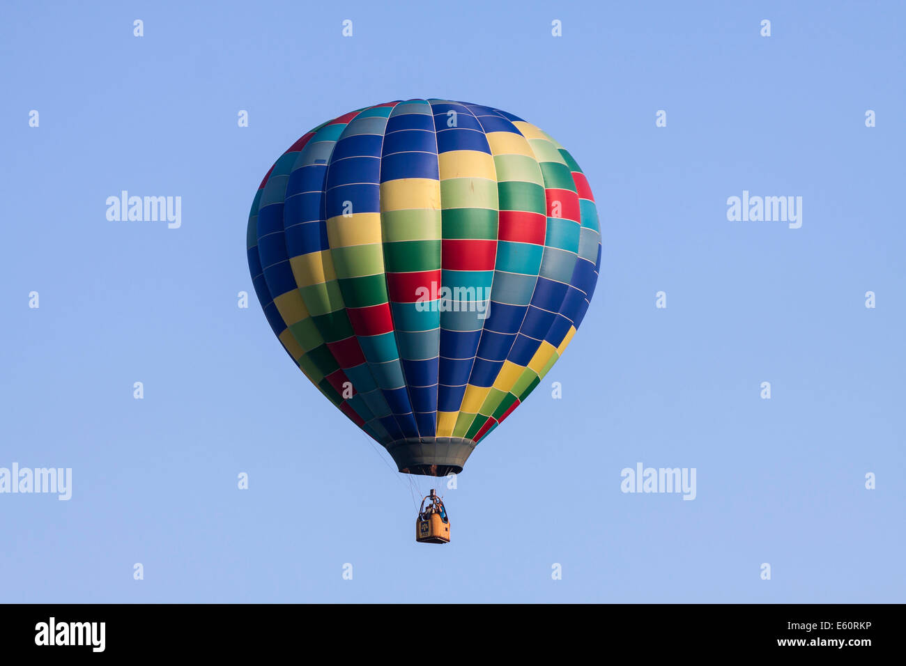 International Balloon Festival of Saint-Jean-sur-Richelieu, Canada - Stock Image