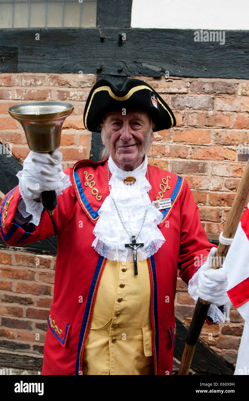 William Turberfield, Town Crier of Ledbury - Stock Image