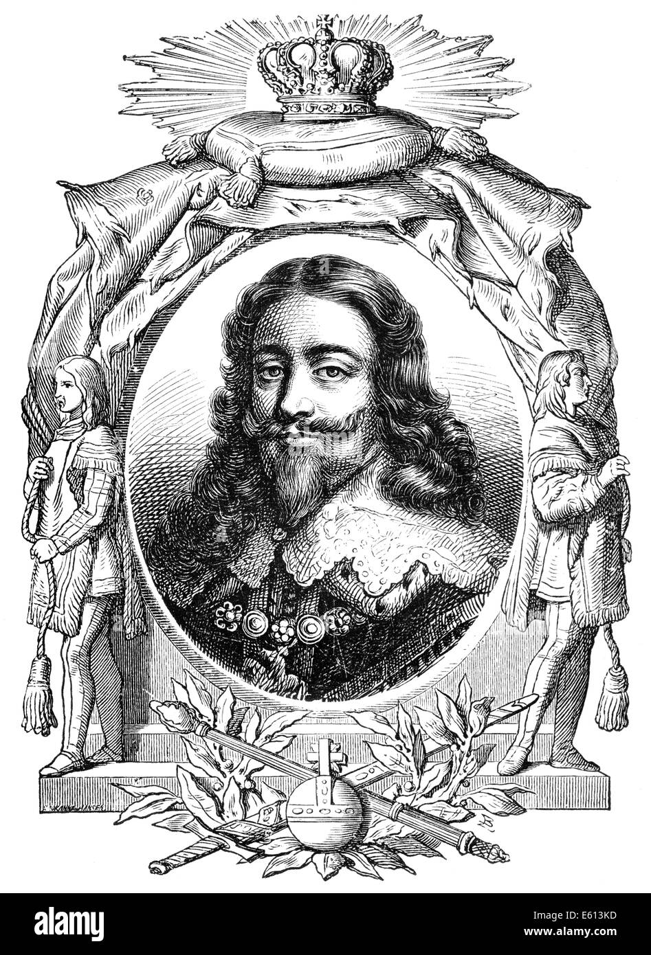 Charles I, 1600 - 1649, king of England, Scotland, and Ireland, - Stock Image