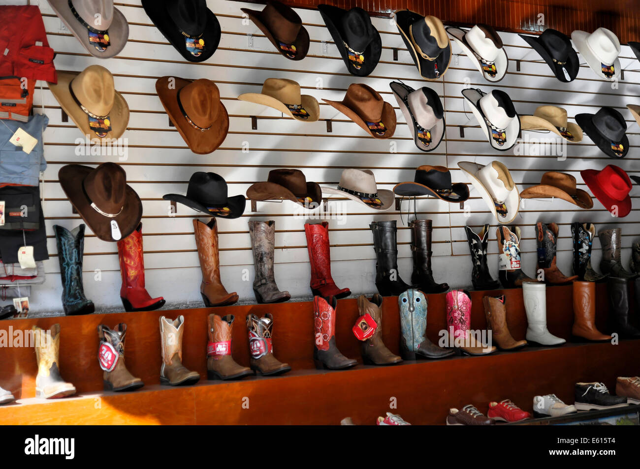 Leather boots and hats 11f685dd8e8