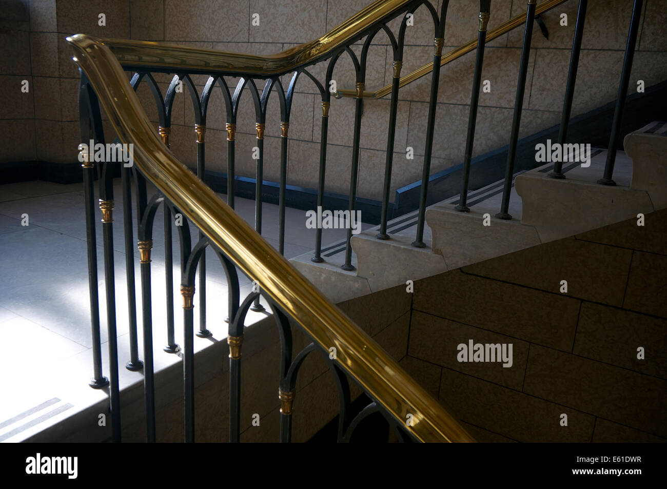 Charmant Brass Railing On Stairs To The Second Floor Inside The Canadian House Of  Commons   Centre