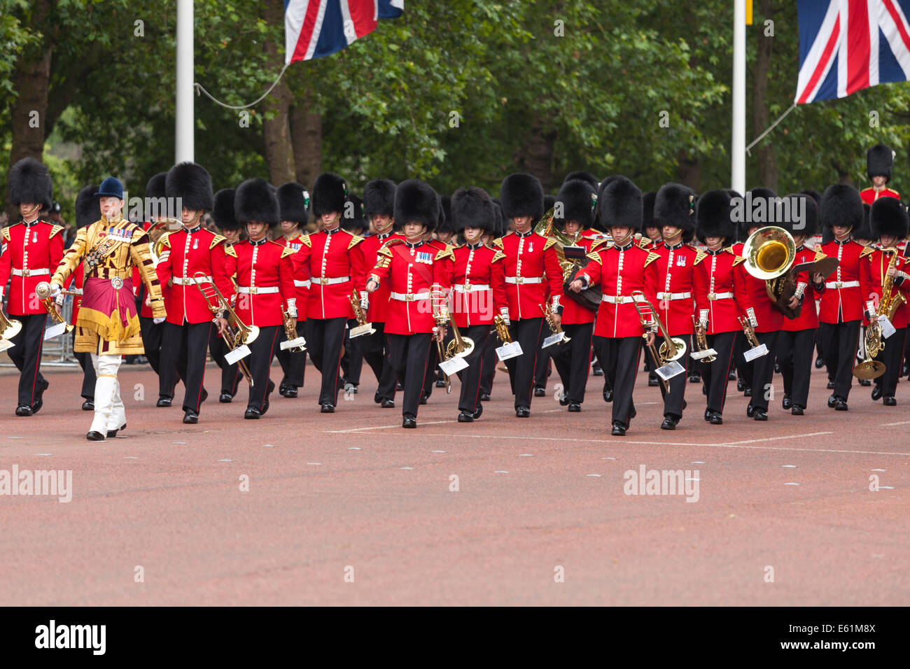 royal her photo museum outdoor stock bands in marching the eastney photos band concert massed at majesties by marine marines