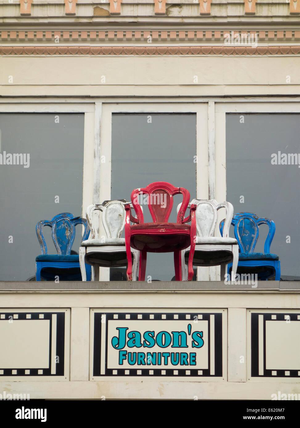 Jasonu0027s Furniture Store In New London CT   Stock Image
