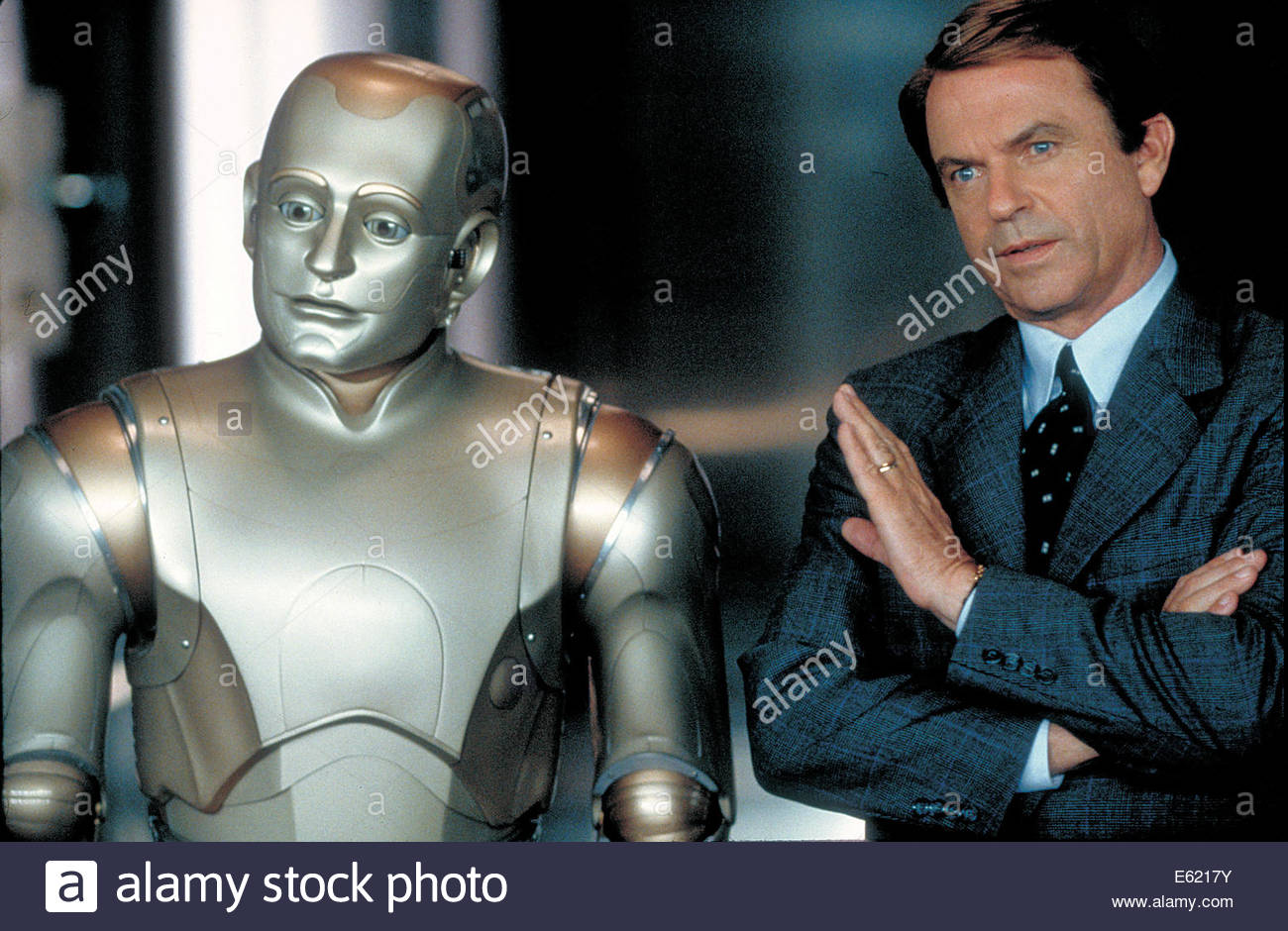 Bicentennial Man  (1999) PICTURED:  ROBIN WILLIAMS, SAM NEILL Courtesy Granamour Weems Collection.  Editorial use - Stock Image