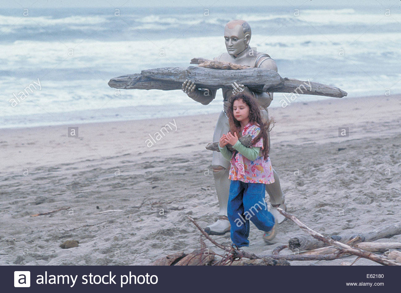 Bicentennial Man  (1999) PICTURED:  ROBIN WILLIAMS, Hallie Kate Eisenberg. Courtesy Granamour Weems Collection. - Stock Image