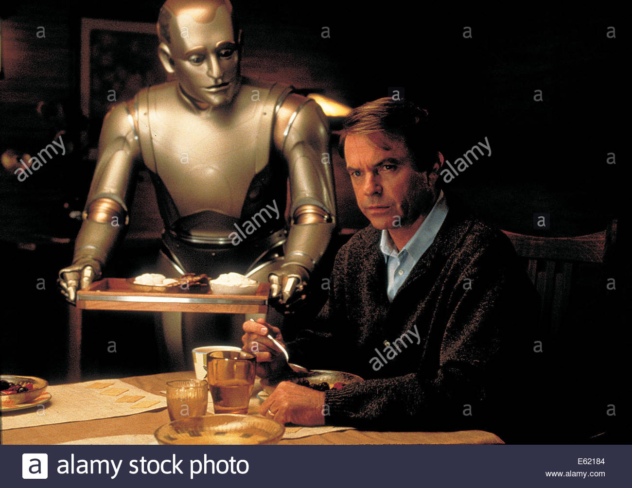 Bicentennial Man  (1999) PICTURED:  ROBIN WILLIAMS, SAM NEILL. Courtesy Granamour Weems Collection.  Editorial use - Stock Image