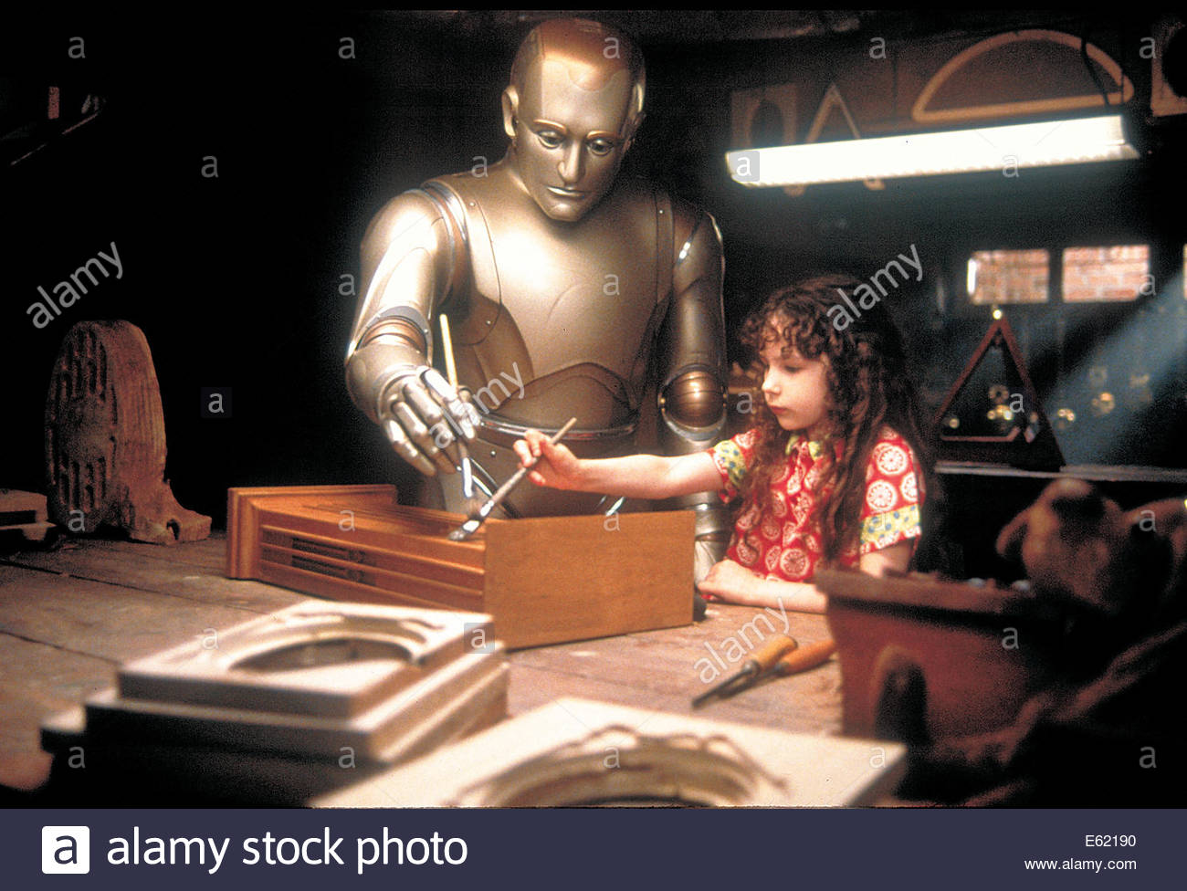 Bicentennial Man  (1999) PICTURED:  ROBIN WILLIAMS,Hallie Kate EisenbeRG. Courtesy Granamour Weems Collection.  - Stock Image