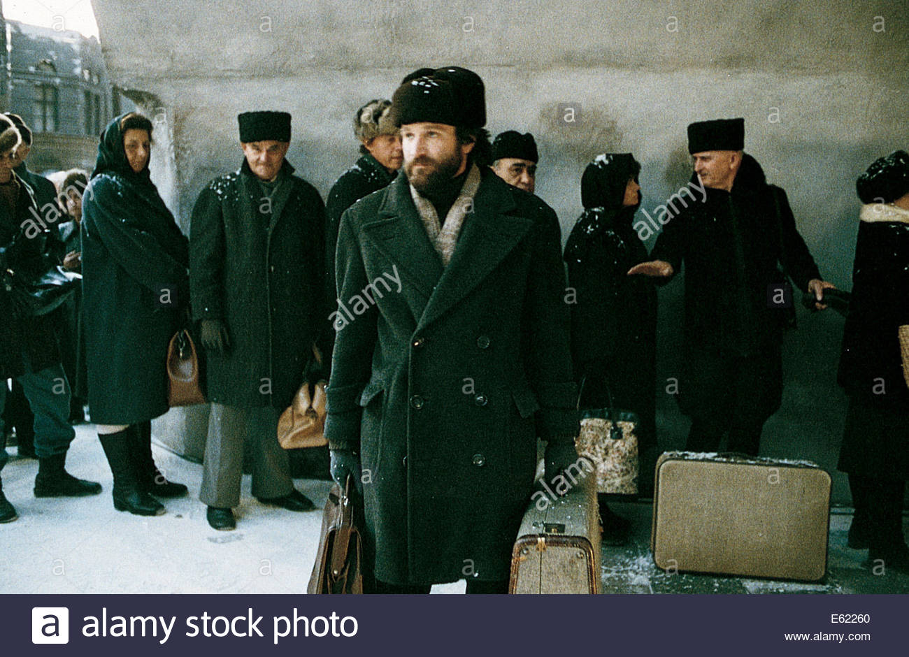 Moscow on the Hudson (1984) -  ROBIN WILLIAMS. Courtesy Granamour Weems Collection.  Editorial use only.  Licensee Stock Photo