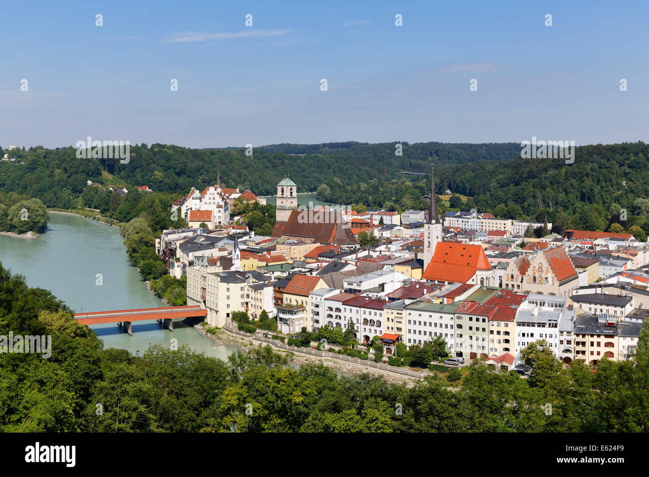 Wasserburg Am Inn Germania wasserburg at inn river stock photos & wasserburg at inn