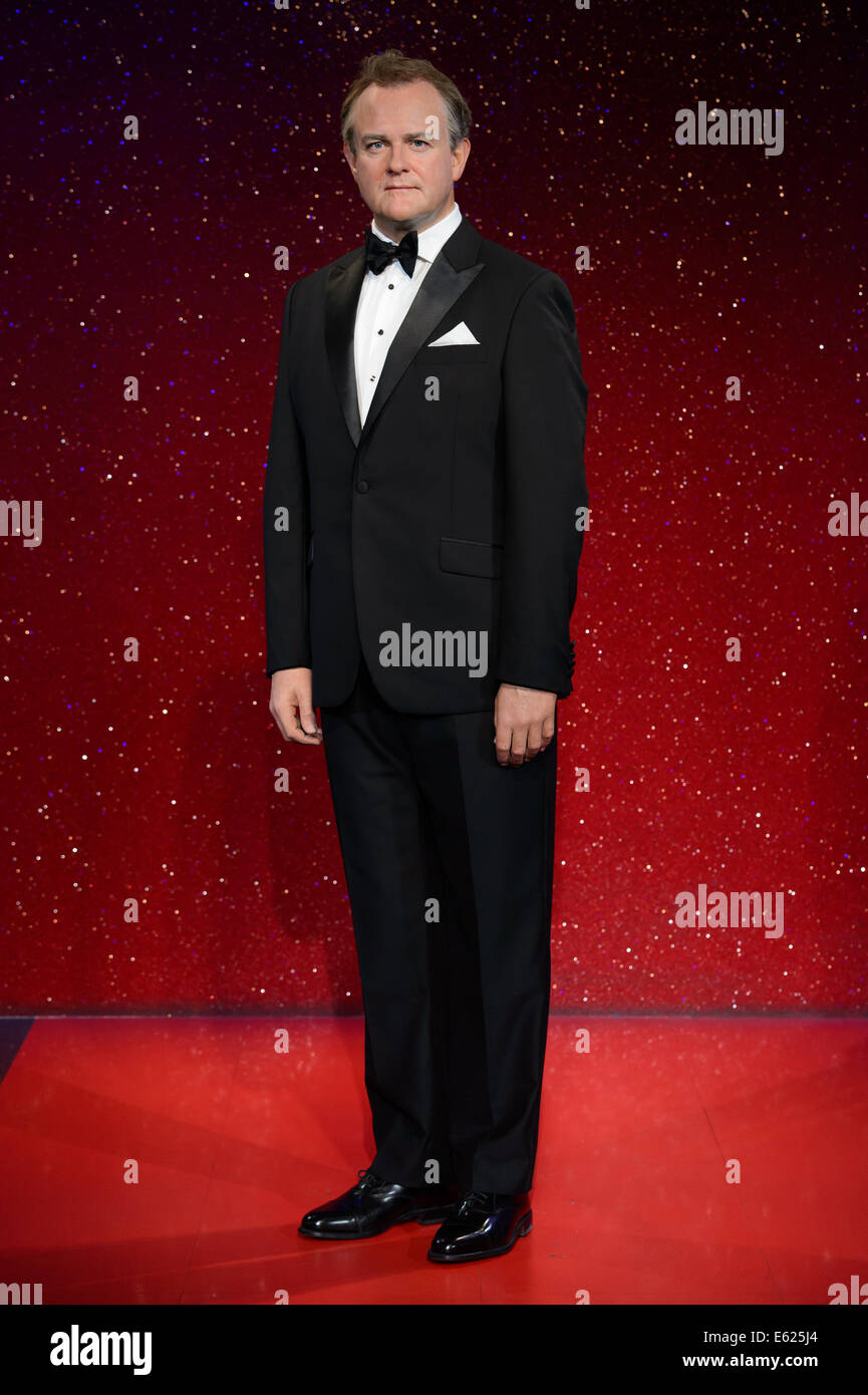 Madame Tussaud's London launches the new Hugh Bonneville wax figure. - Stock Image