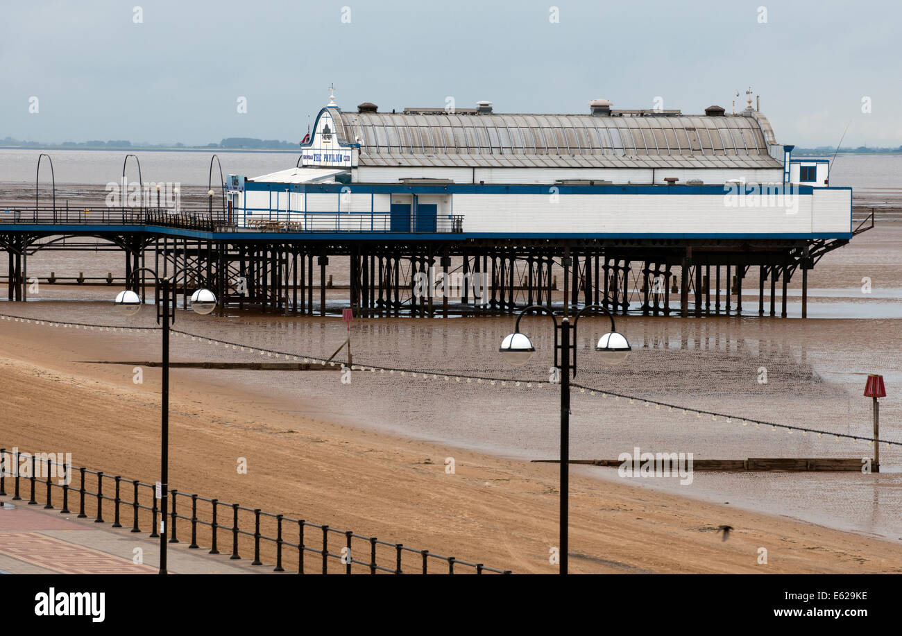 Cleethorpes Pier, Cleethorpes, North East Lincolnshire. - Stock Image