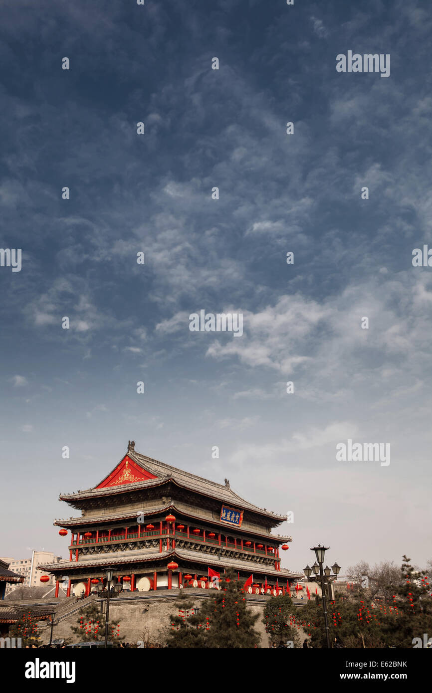 Ancient Architectural Buildings - Stock Image