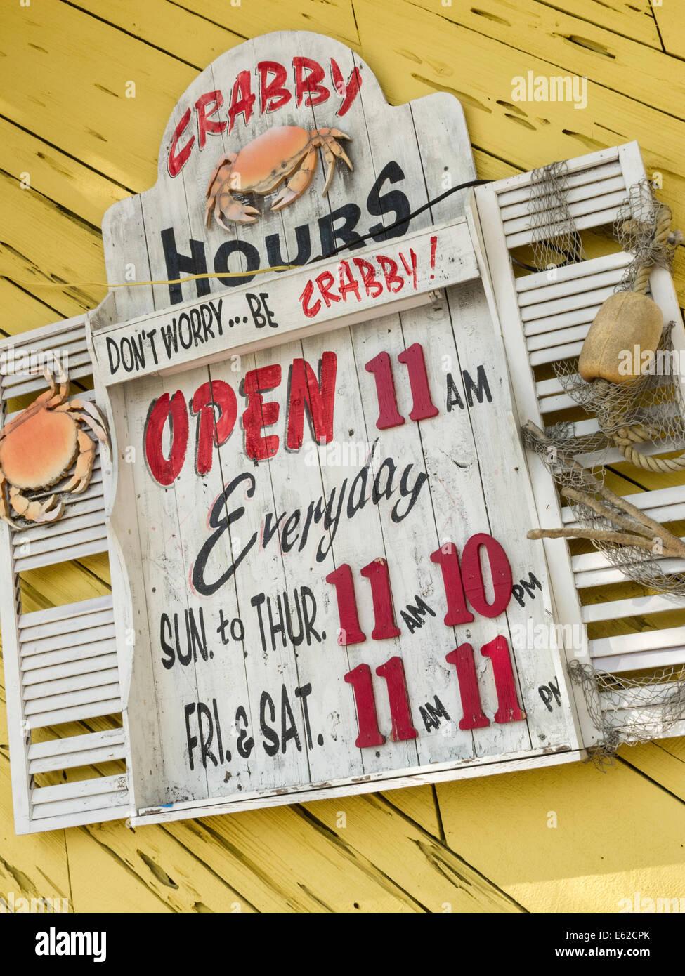 Crabby Bill S Seafood Restaurant Clearwater Beach Fl Usa