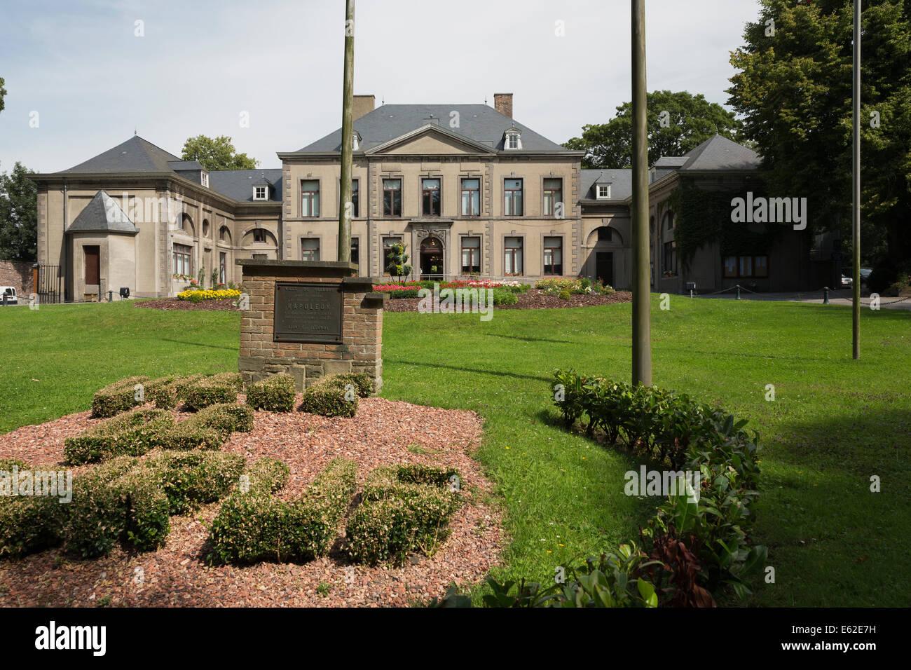 The Château de la Paix in Fleurus - Stock Image