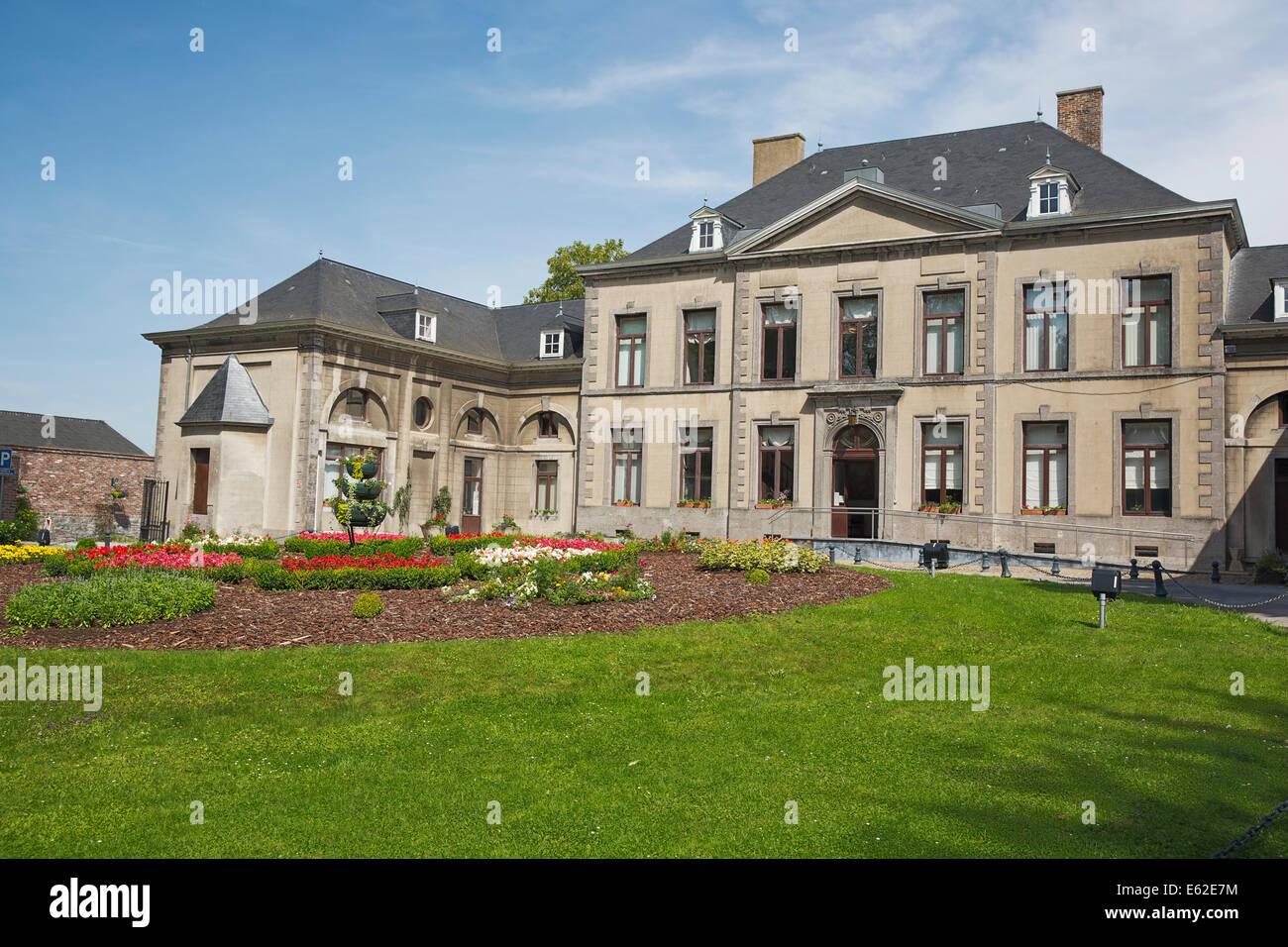 Side view of the Château de la Paix - Stock Image