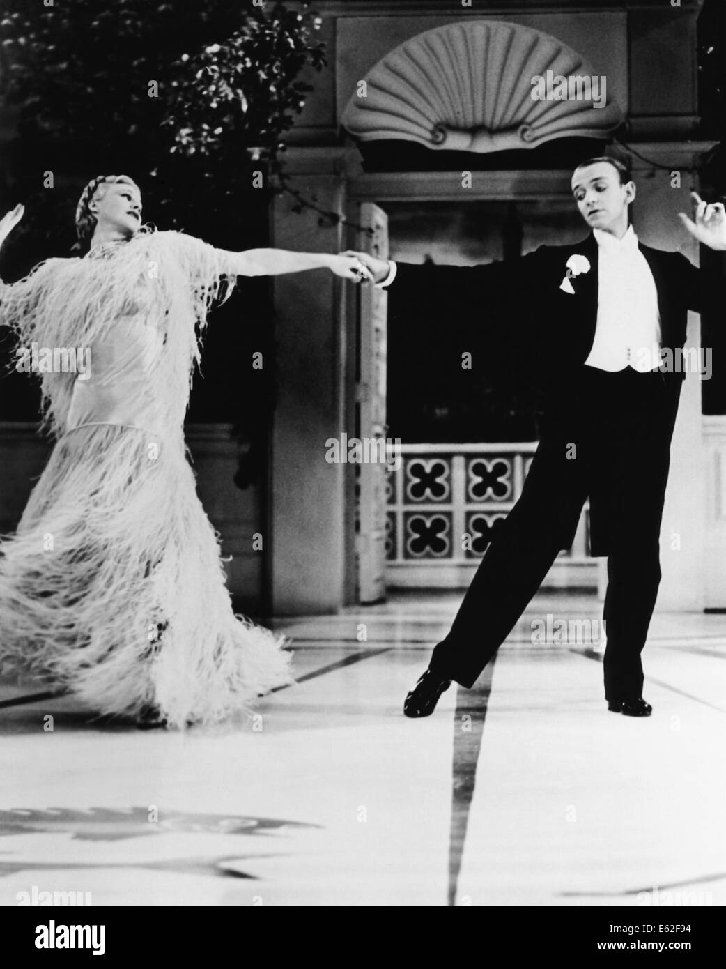 Top Hat With Ginger Rogers Fred Astaire Directed By Mark Stock Photo Alamy