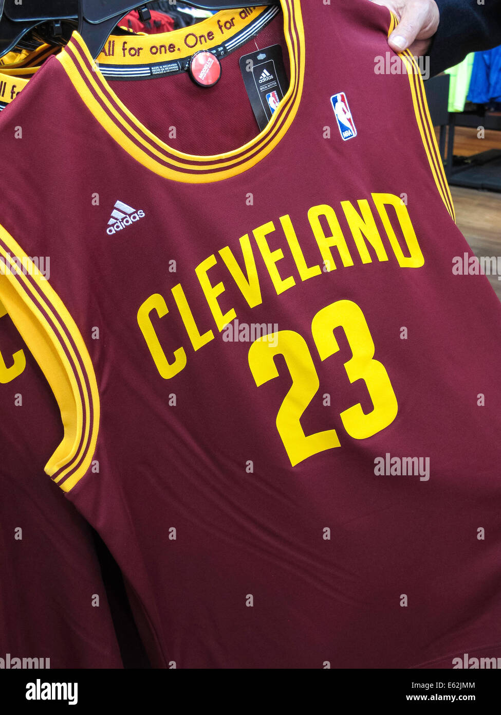 info for c8f76 bc6f7 LeBron James, Cleveland Cavs Game Jerseys, Modell's Sporting ...