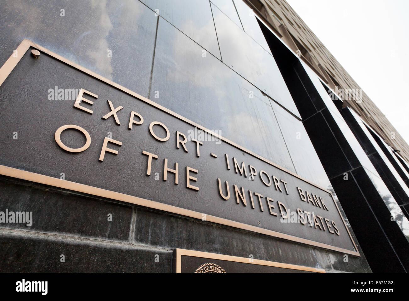 Export-Import Bank of the United States headquarters - Washington, DC USA - Stock Image