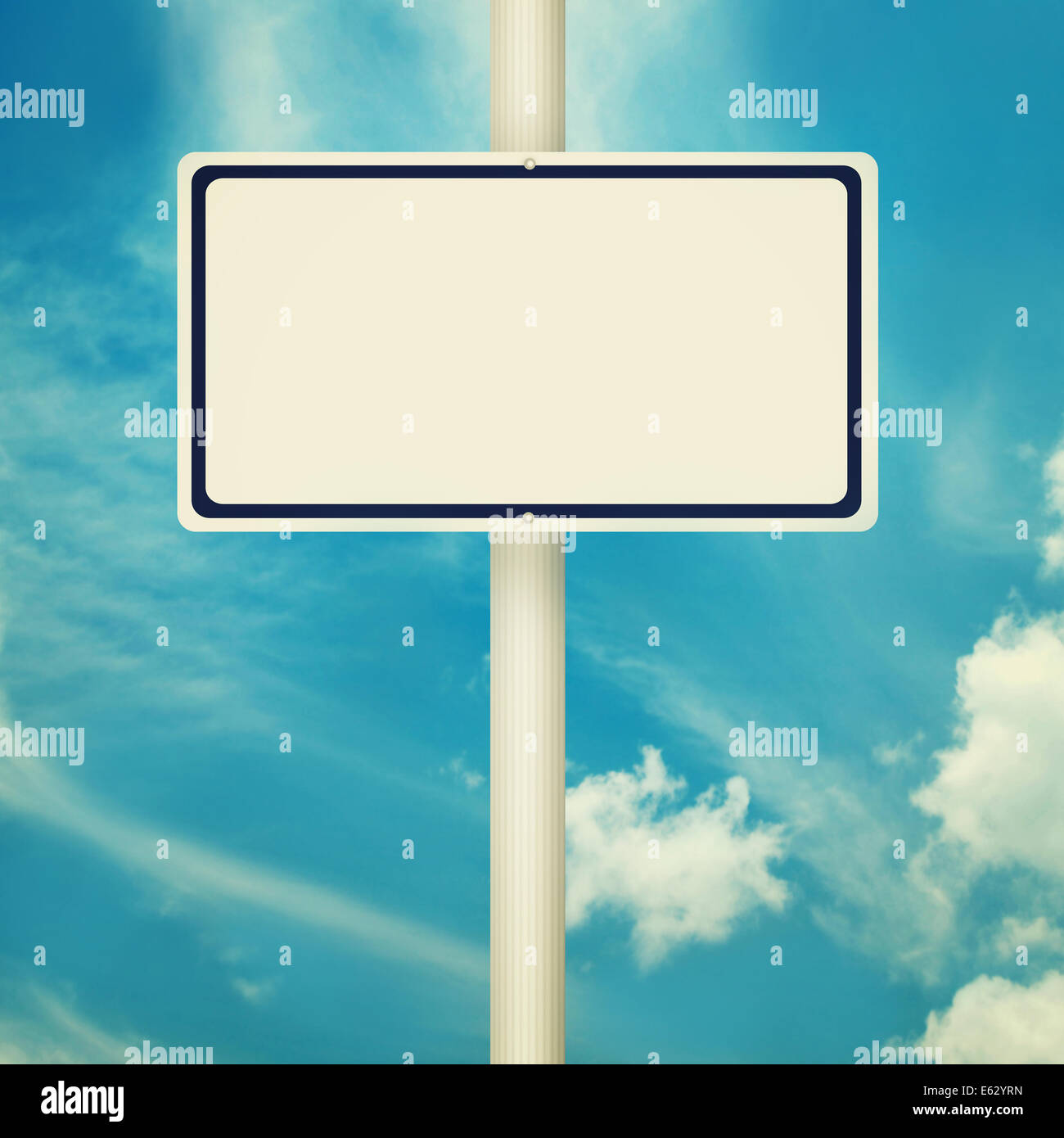 Blank Road Signs Stock Photos & Blank Road Signs Stock ...