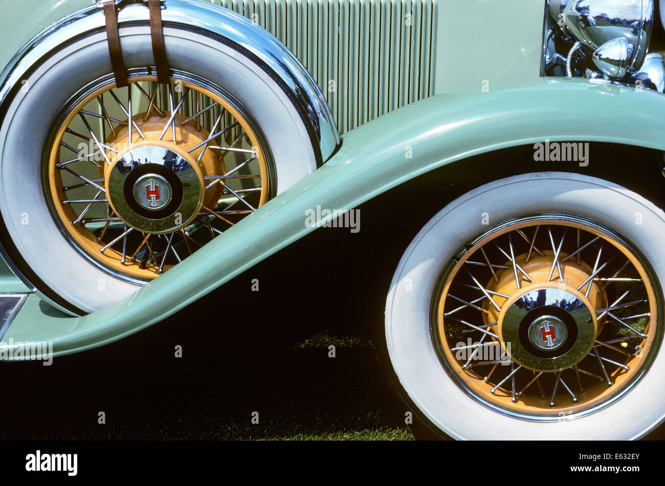 Wire Wheel Car Stock Photos & Wire Wheel Car Stock Images - Alamy