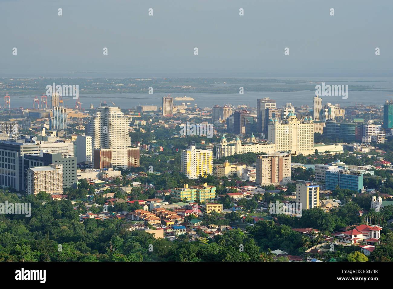 General View Cebu City Philippines - Stock Image