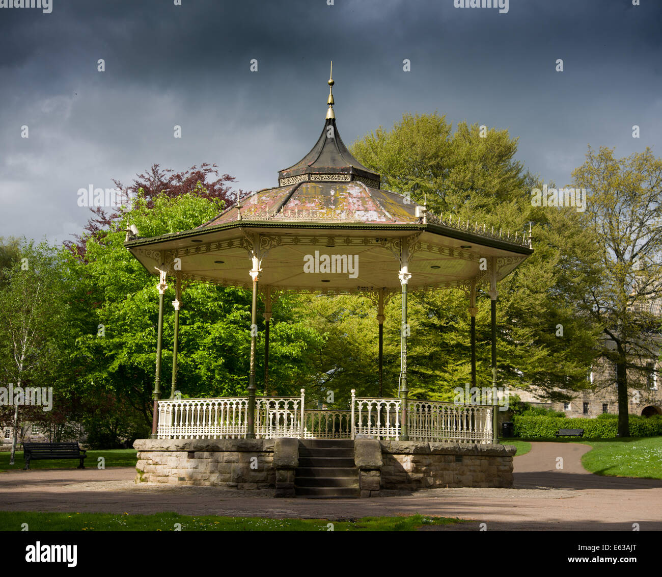Bandstand - Stock Image