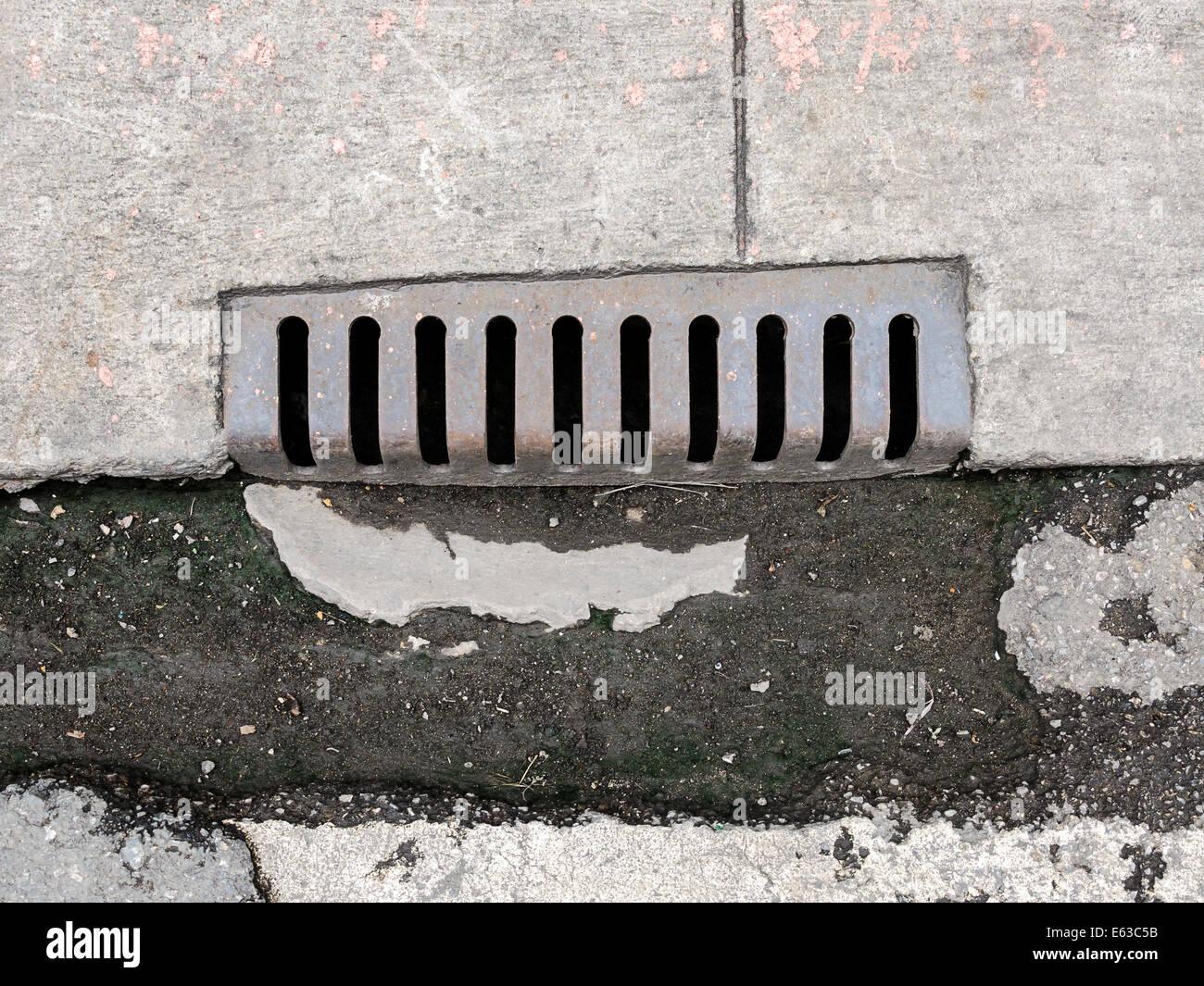 Concrete Manhole Cover Stock Photos Amp Concrete Manhole