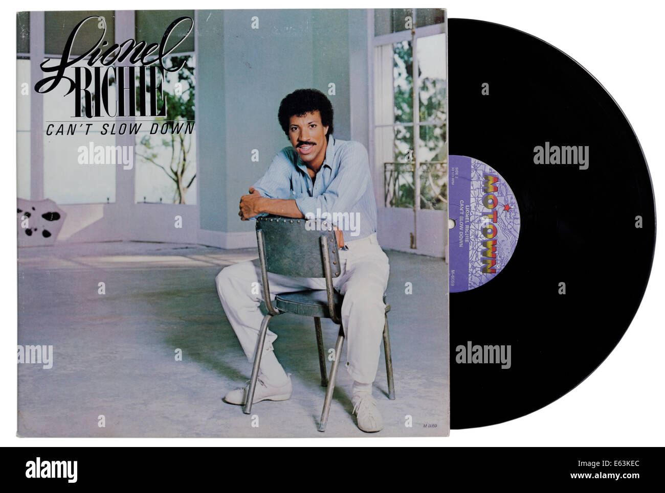 Can't Slow Down by Lionel Richie - Stock Image